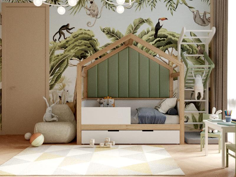 Мебель детской комнаты мальчика-школьника проект 4047-3