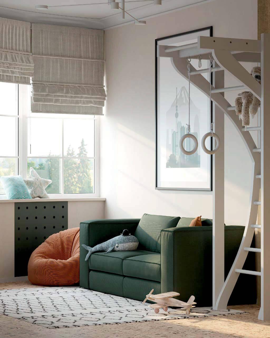 Мебель детской мальчика подростка проект 4013-1
