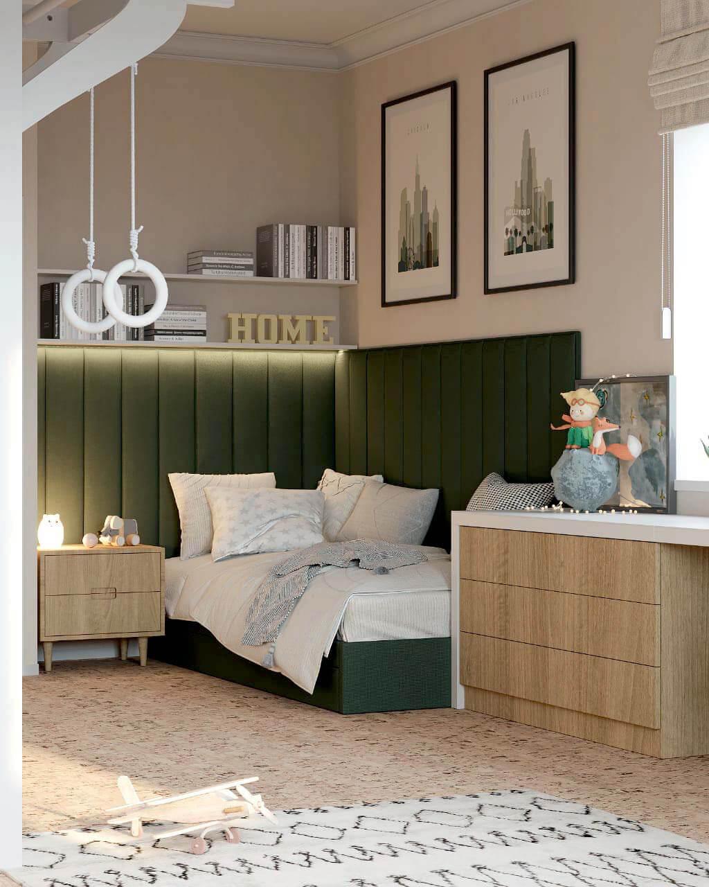 Мебель детской мальчика подростка проект 4013-3