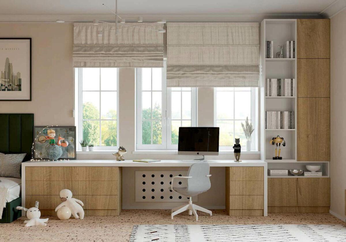 Мебель детской мальчика подростка проект 4013-6