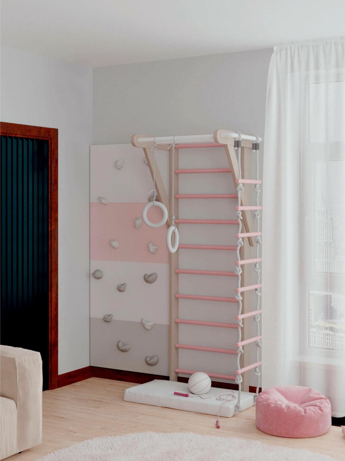 Мебель детской спальни 2 девочек проект 4359-10