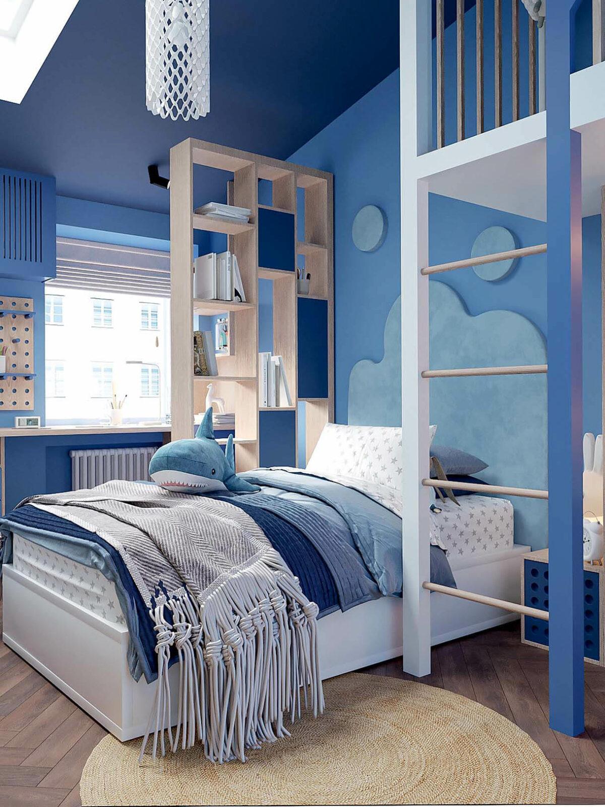 Мебель детской спальни девочки-школьницы проект 3973-2-5