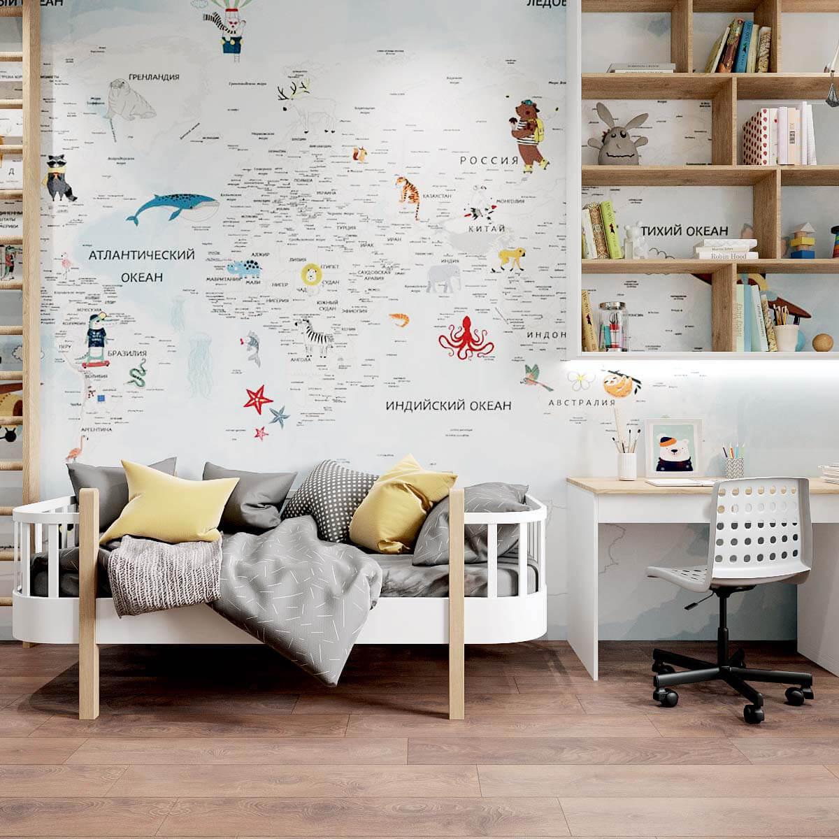 Мебель детской спальни мальчика проект 4409-5