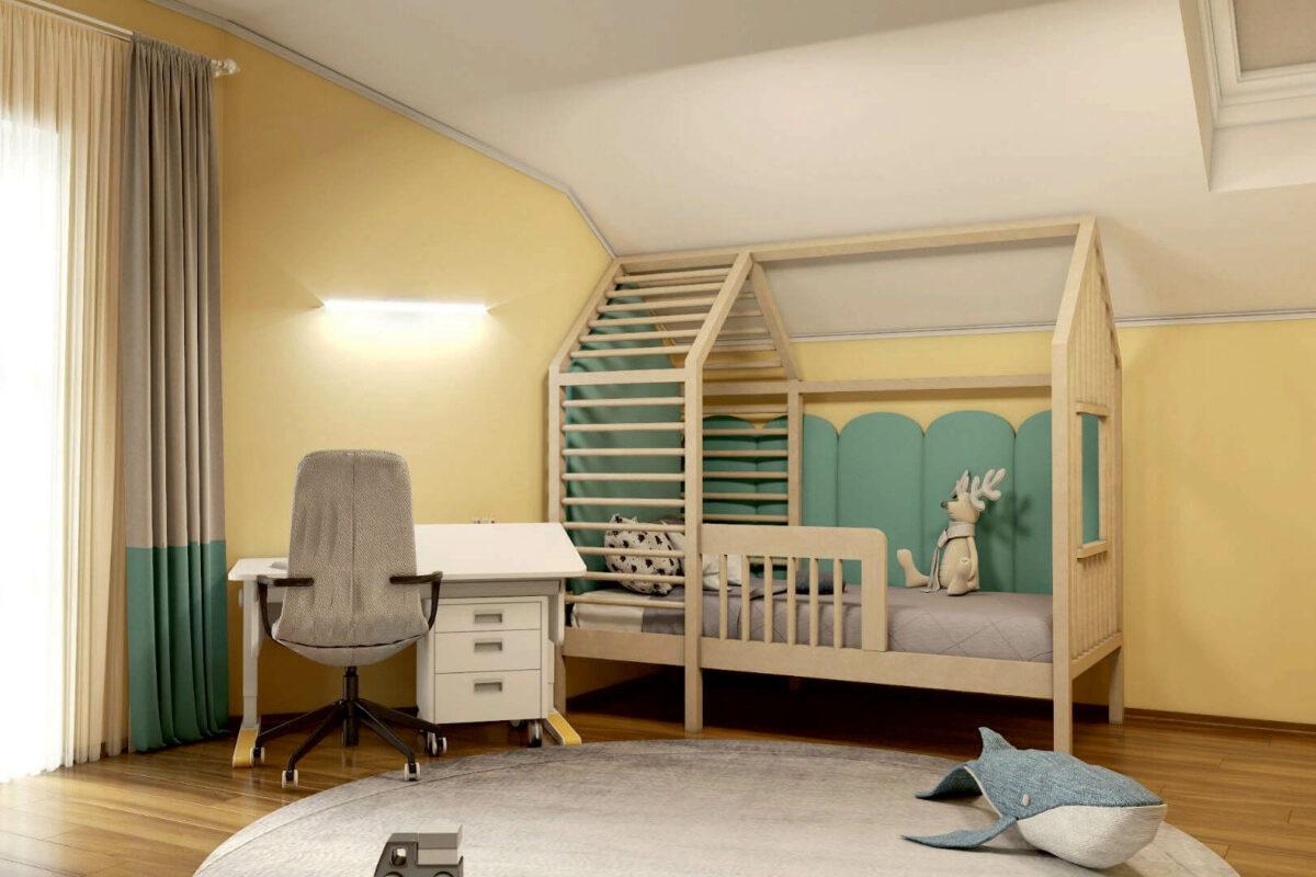 Мебель детской спальни мальчика проект 4595-4