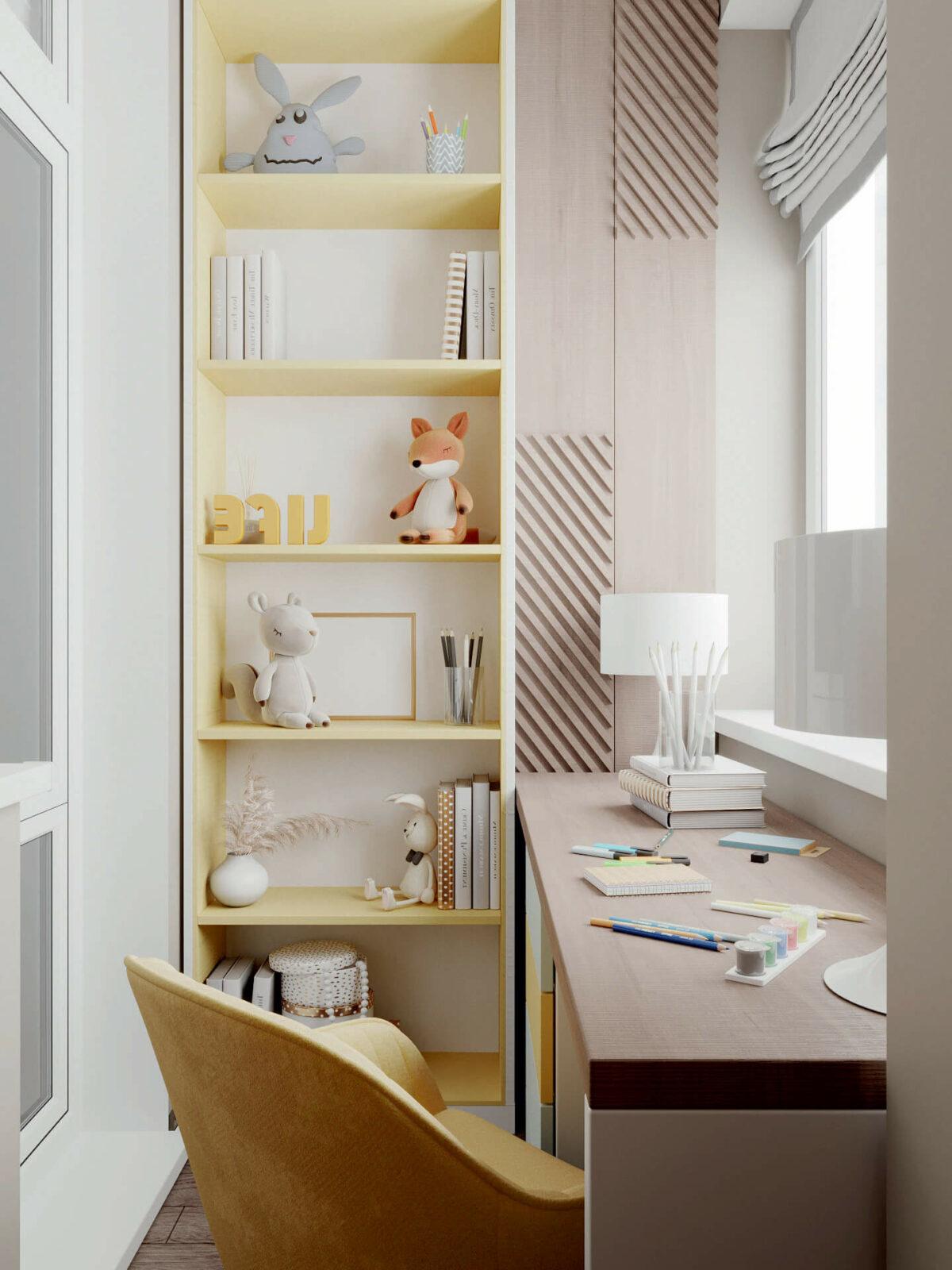 Мебель детской спальни мальчика проект 4619-2