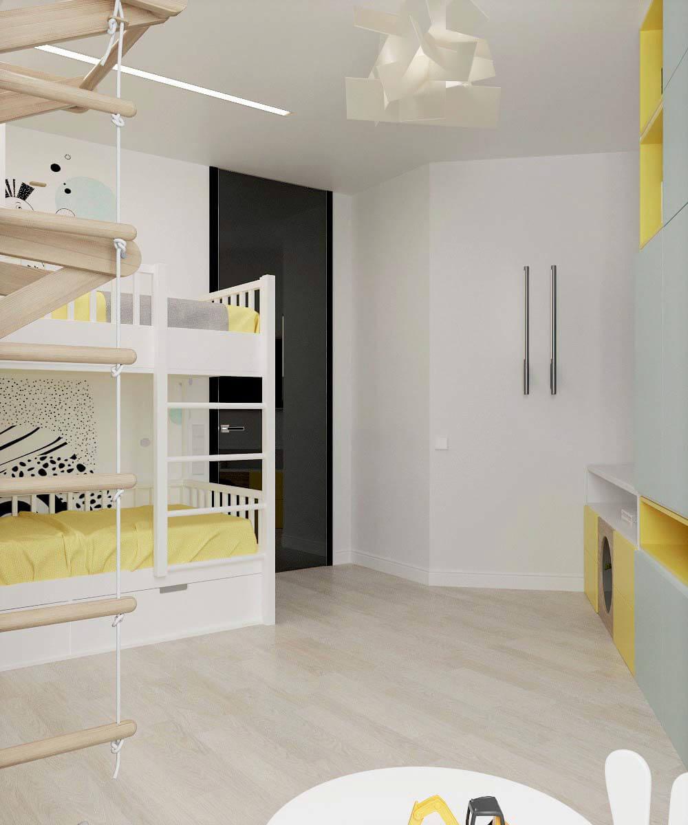 Мебель для детской комнаты мальчика проект 3669-6