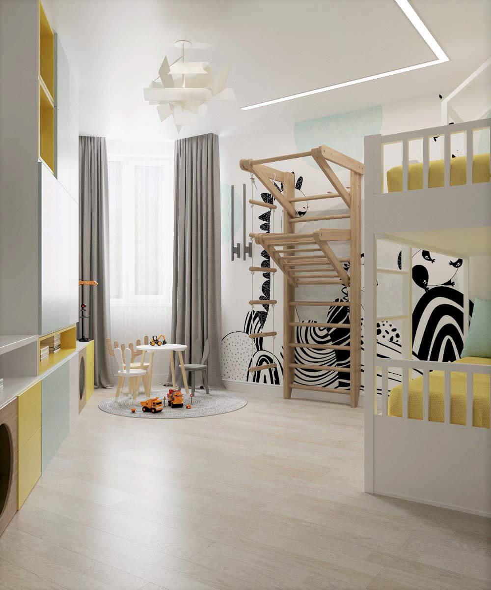 Мебель для детской комнаты мальчика проект 3669-8