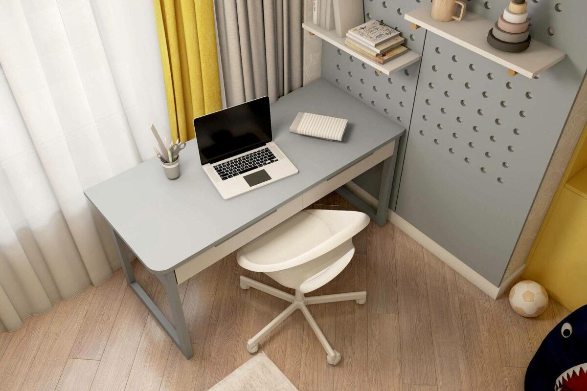 Мебель для детской комнаты мальчика проект 3861-4