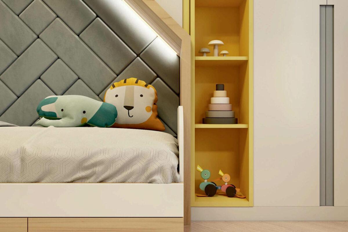 Мебель для детской комнаты мальчика проект 3861-5