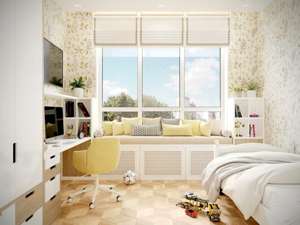 Мебель для детской мальчика проект 3075-1
