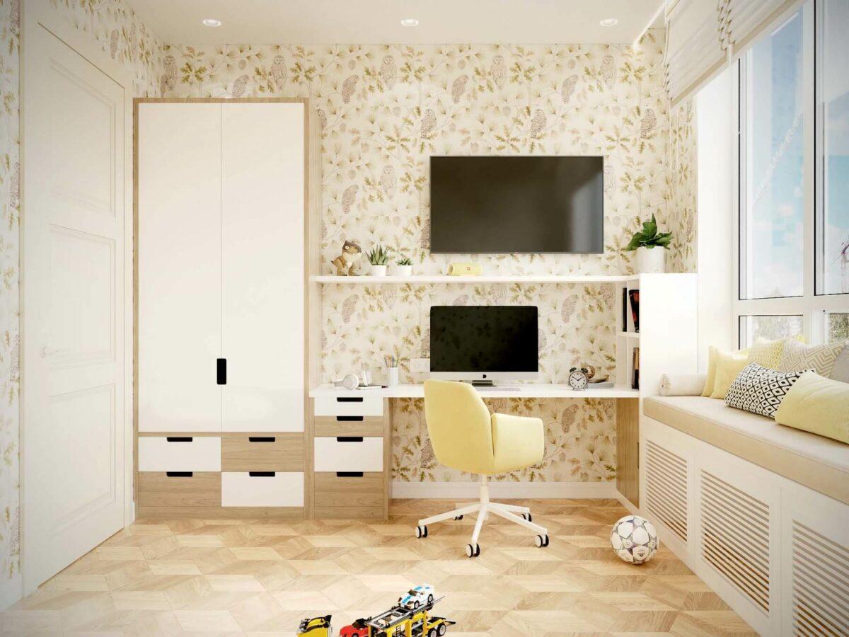 Мебель для детской мальчика проект 3075-2