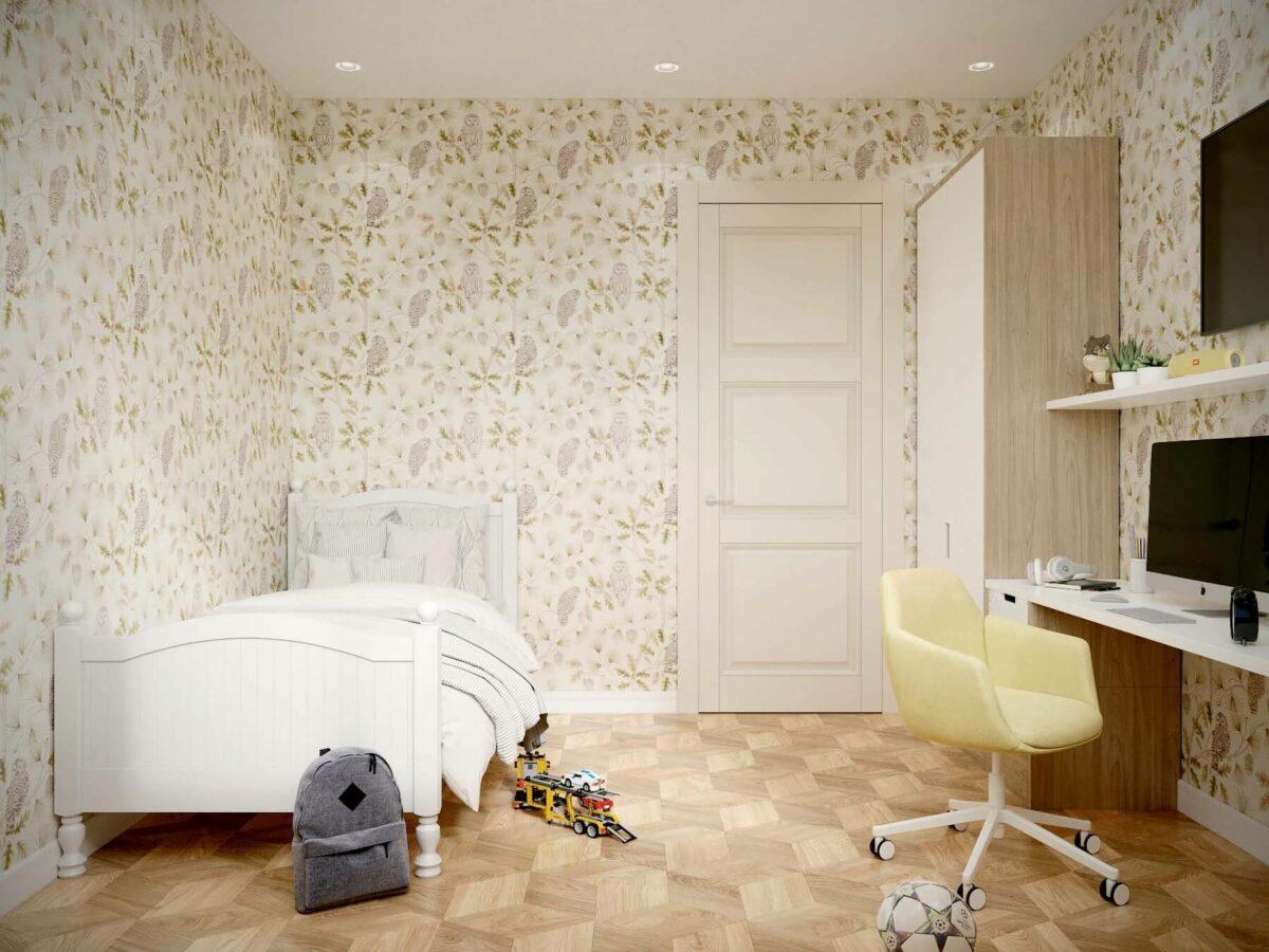 Мебель для детской мальчика проект 3075-4