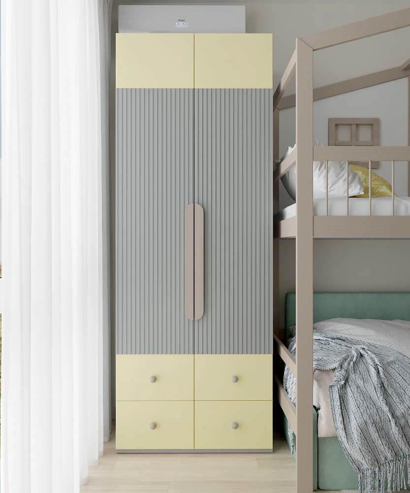 Мебель для детской спальни мальчика проект 3361-2