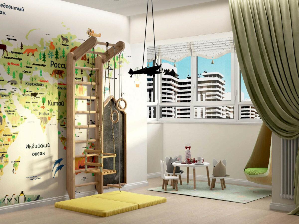 Мебель для игровой комнаты мальчика проект 3395-1