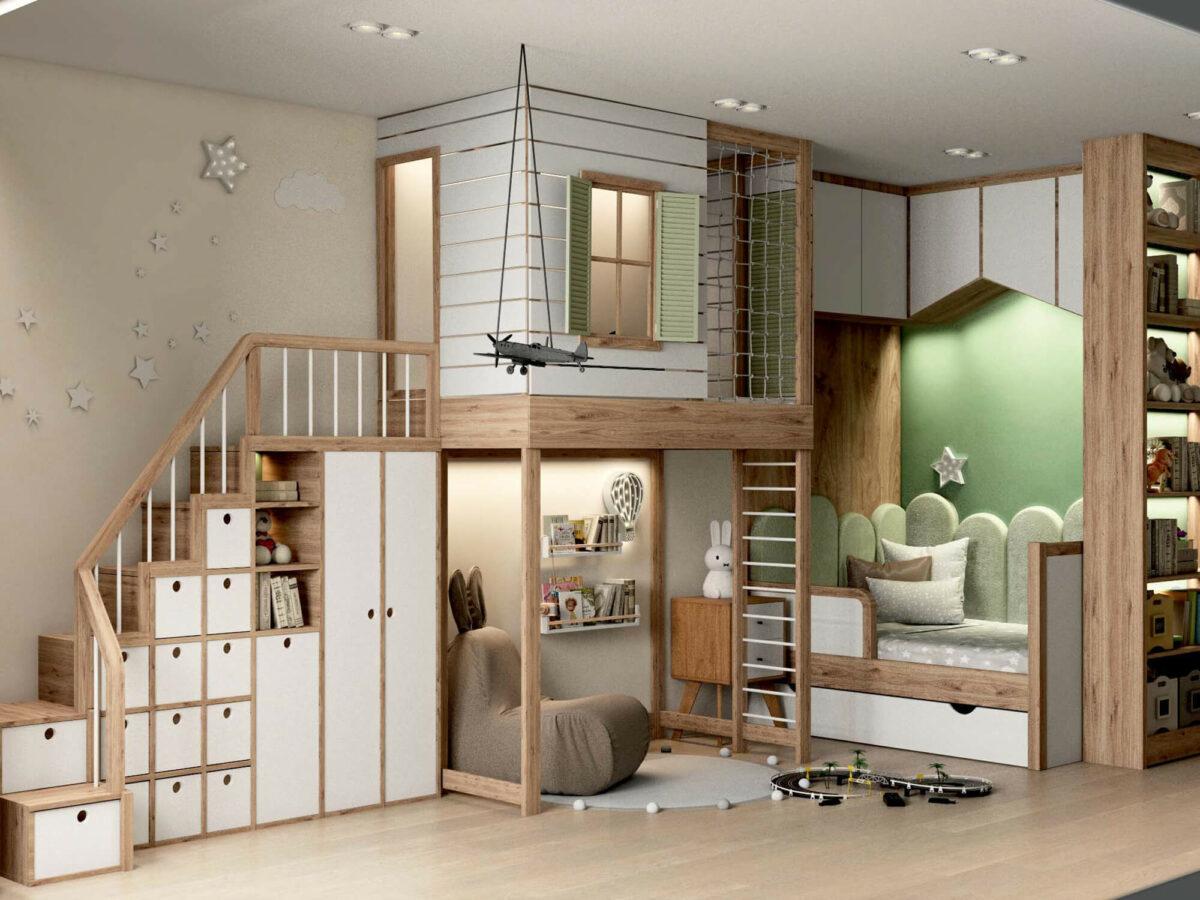 Мебель для игровой комнаты мальчика проект 3395-2