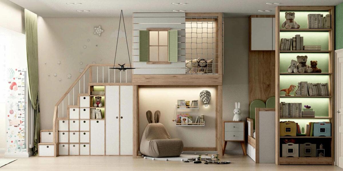 Мебель для игровой комнаты мальчика проект 3395-4