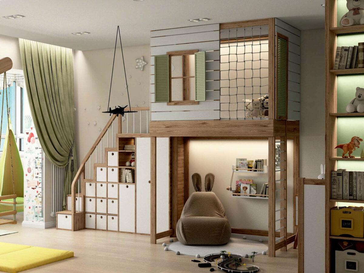 Мебель для игровой комнаты мальчика проект 3395-5