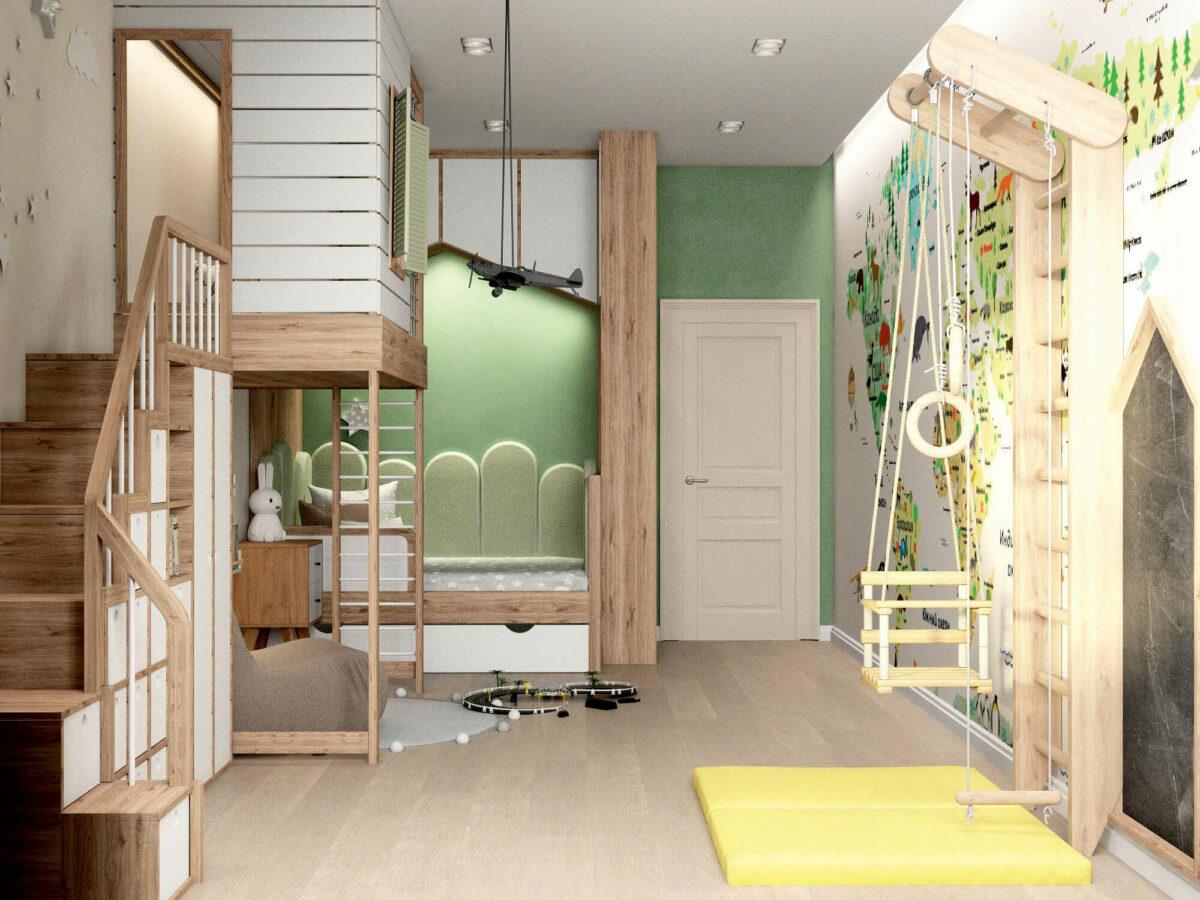Мебель для игровой комнаты мальчика проект 3395-7