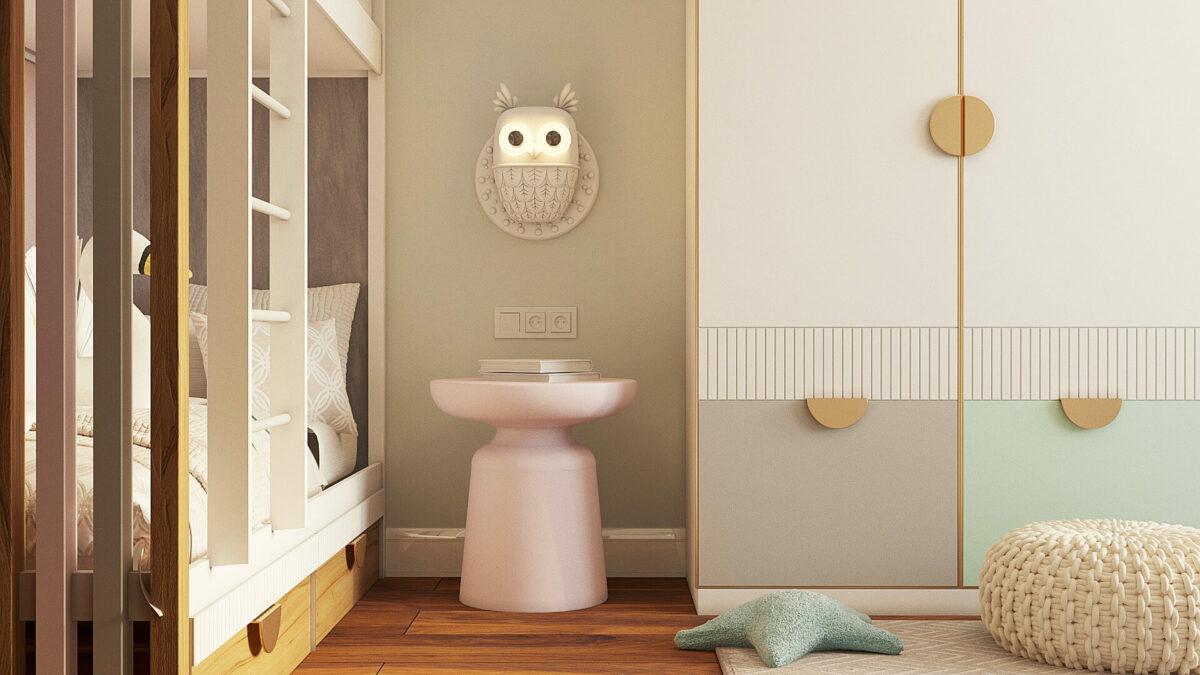 Мебель для комнаты девочки-подростка проект 3485-3