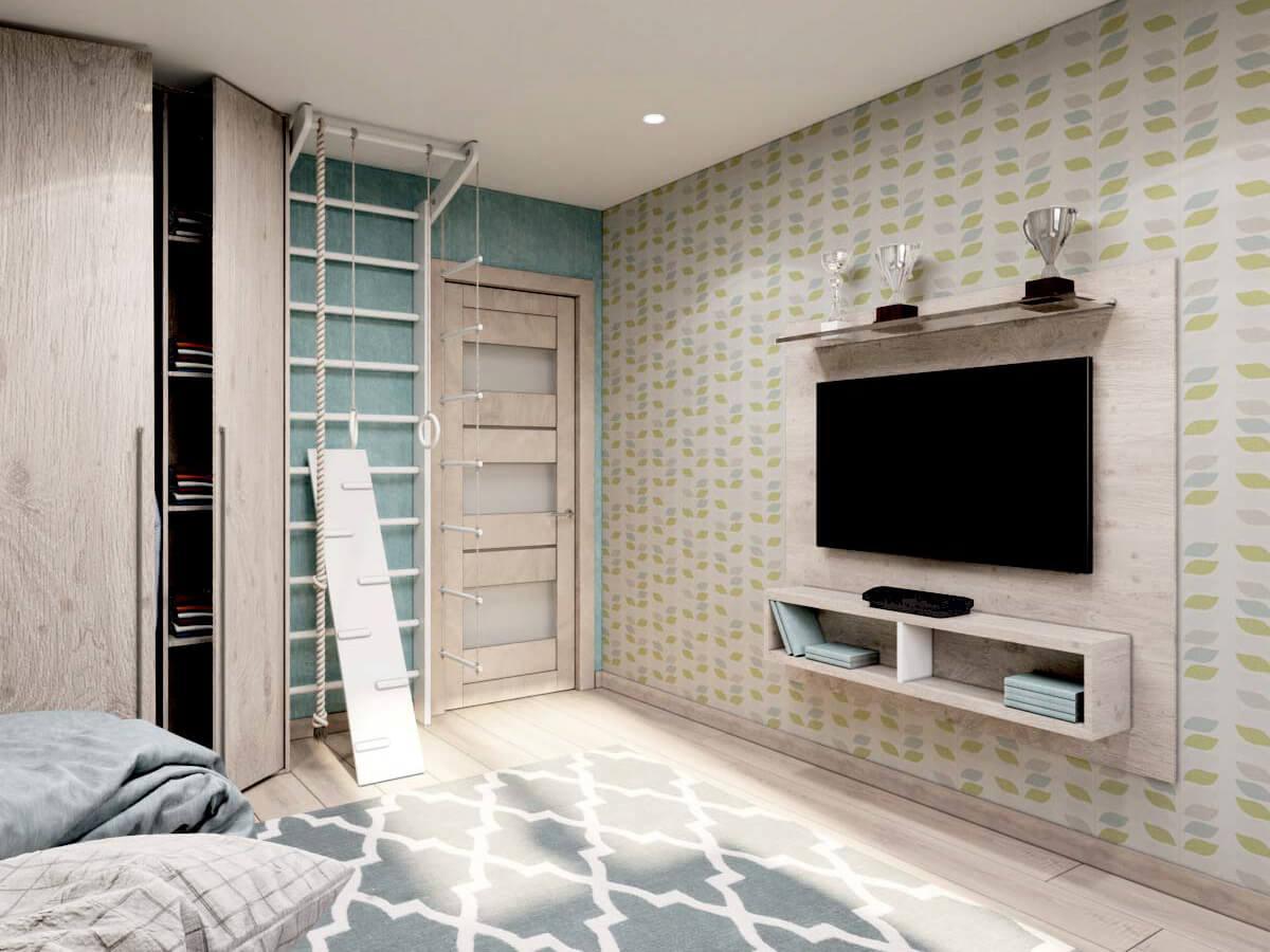 Мебель для подростковой комнаты мальчика проект 3231-3