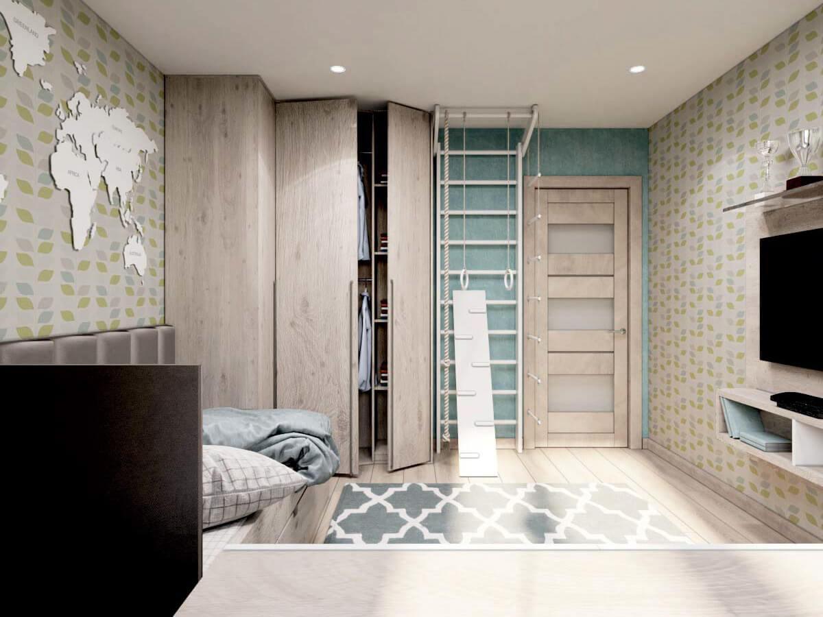 Мебель для подростковой комнаты мальчика проект 3231-4