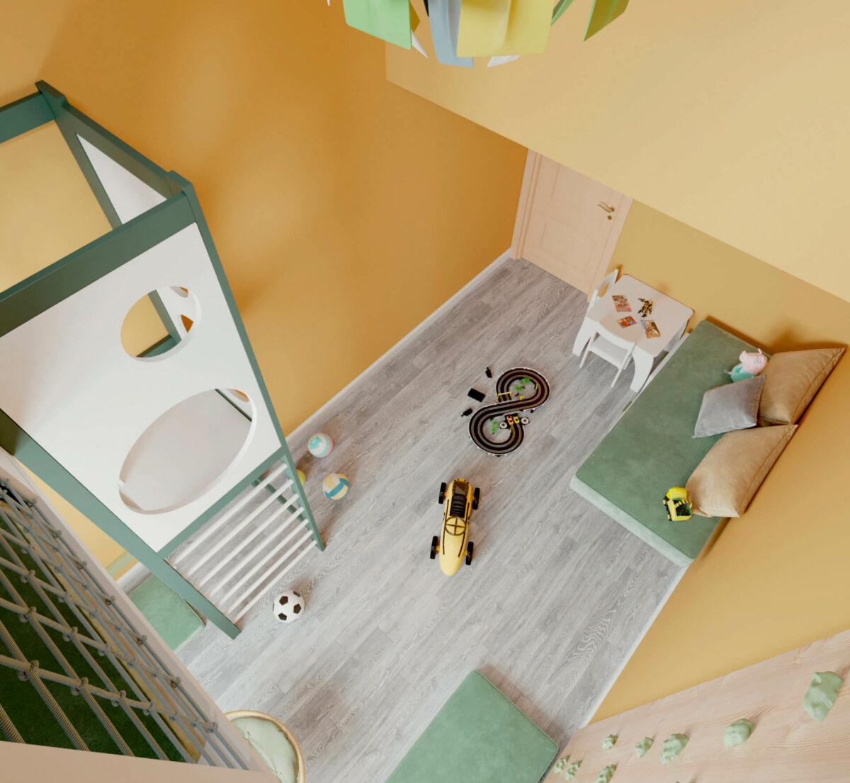 Мебель игровой для разнополых проект 3995-2