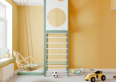 Мебель в игровую комнату разнополых детей — проект 3995
