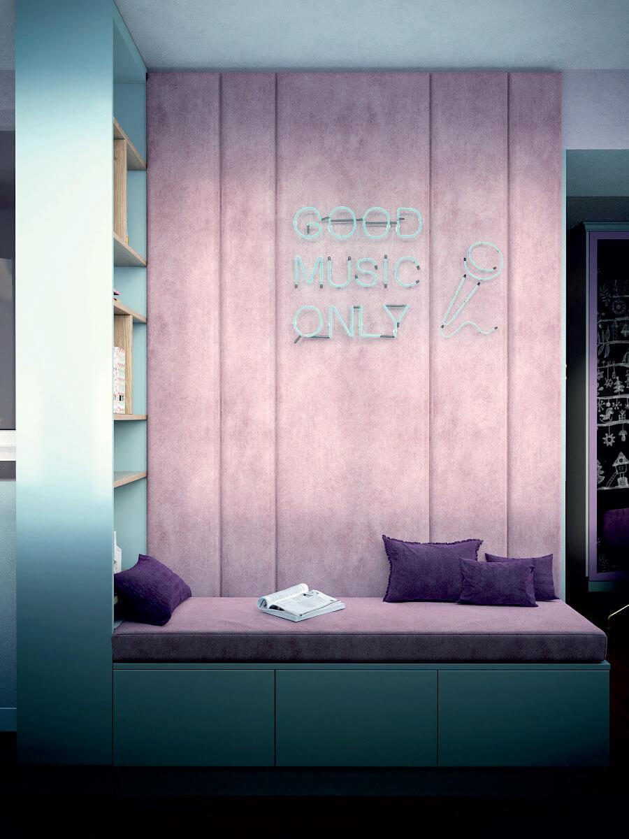 Мебель игровой комнаты для девочки 8 лет проект 4381-8