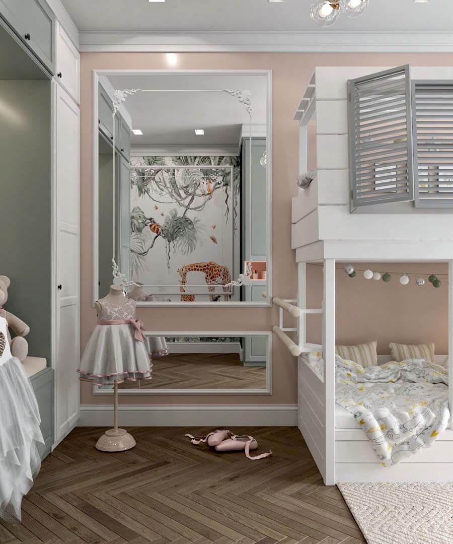 Мебель игровой комнаты для разнополых детей проект 3817-2