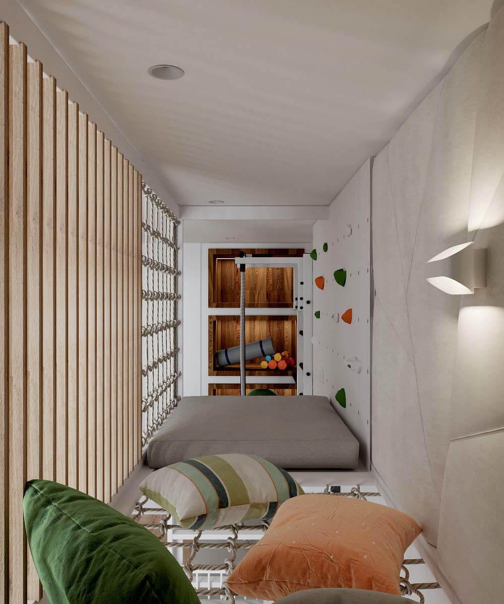Мебель в детскую комнату для разнополых детей проект 3529-9
