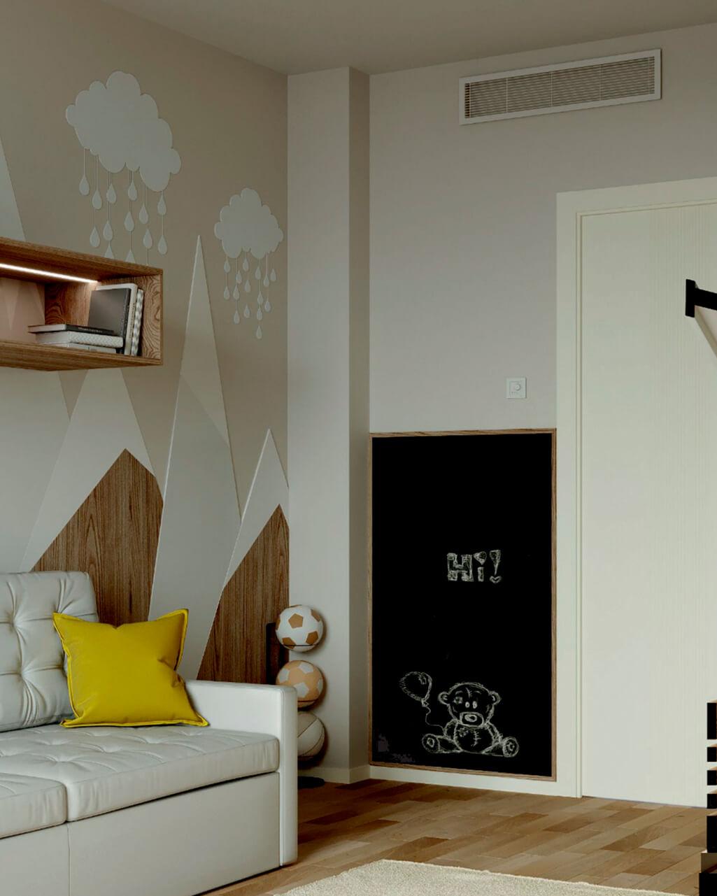 Мебель в детскую комнату мальчика проект 4059-1