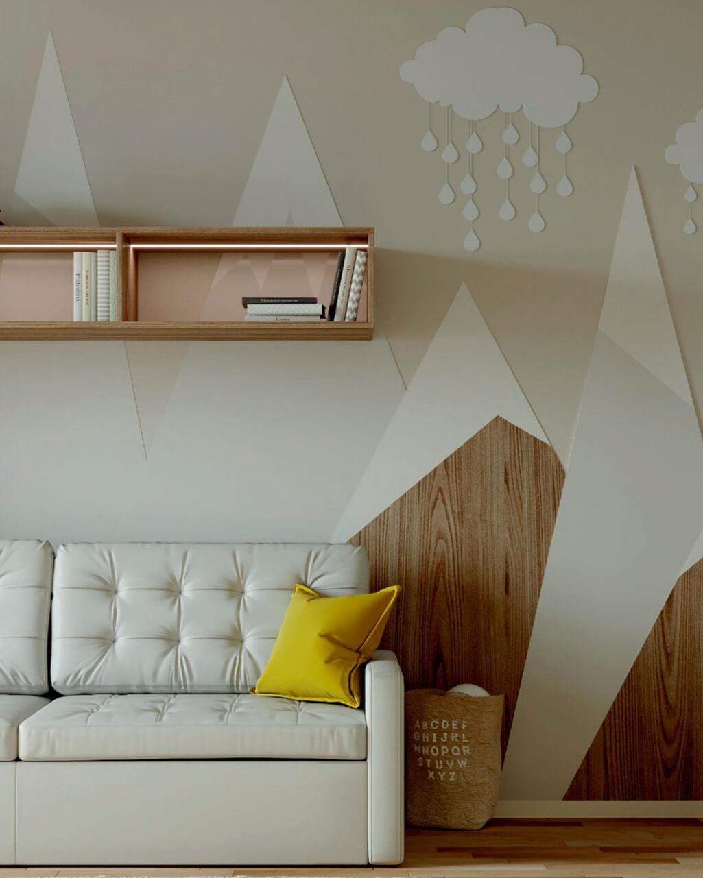 Мебель в детскую комнату мальчика проект 4059-5