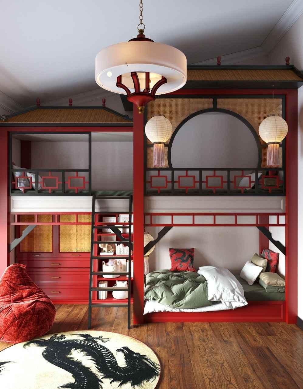 Мебель в детскую комнату мальчиков проект 4449-1