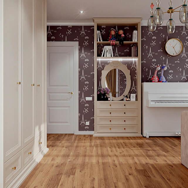 Мебель в детскую спальню девочки-подростка проект 4807-3