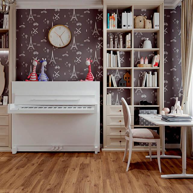 Мебель в детскую спальню девочки-подростка проект 4807-4