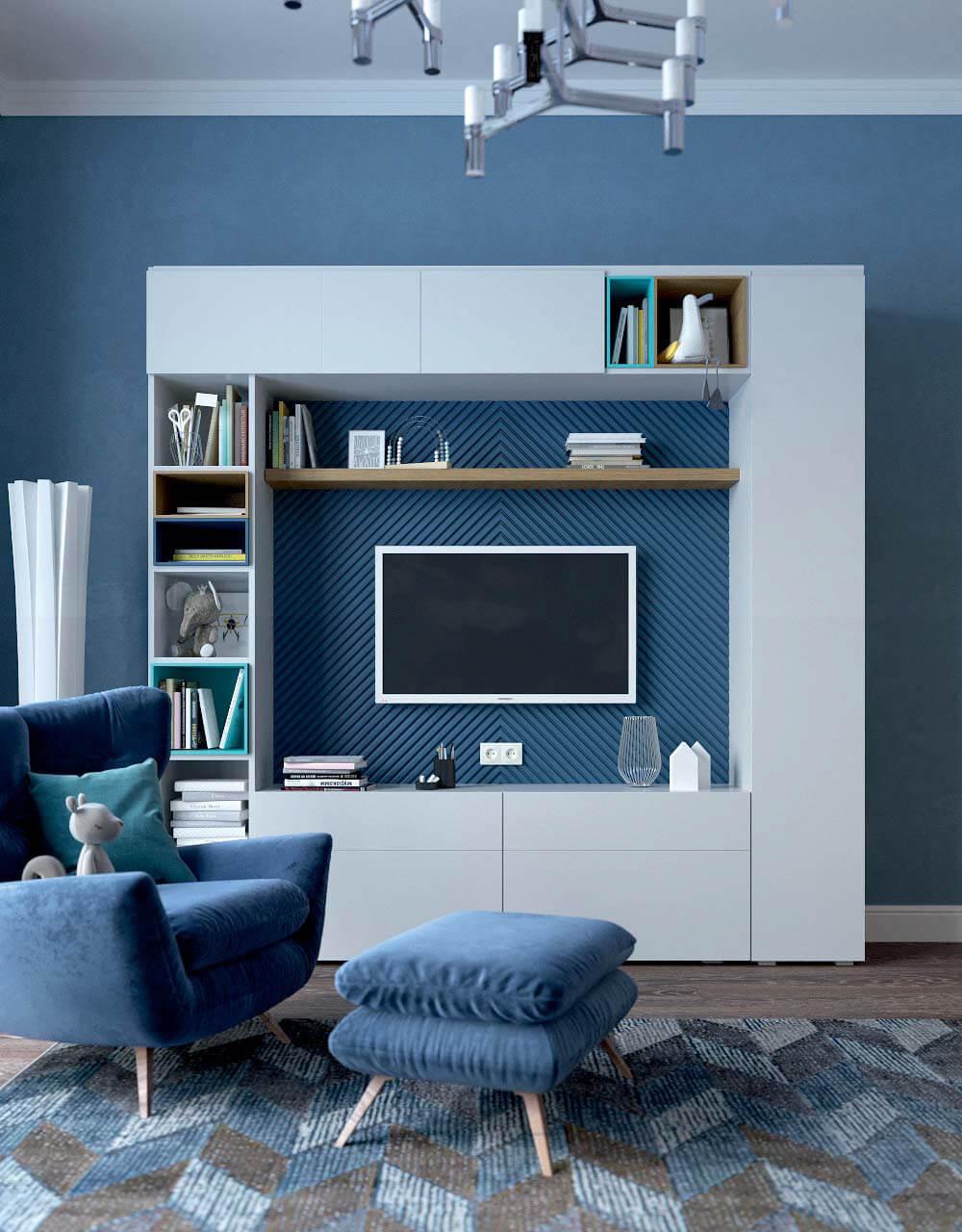 Мебель в комнату для девочки 10 лет проект 3743-1