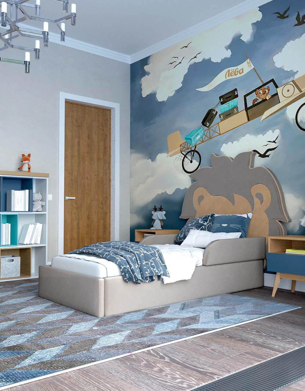 Мебель в комнату для девочки 10 лет проект 3743-4