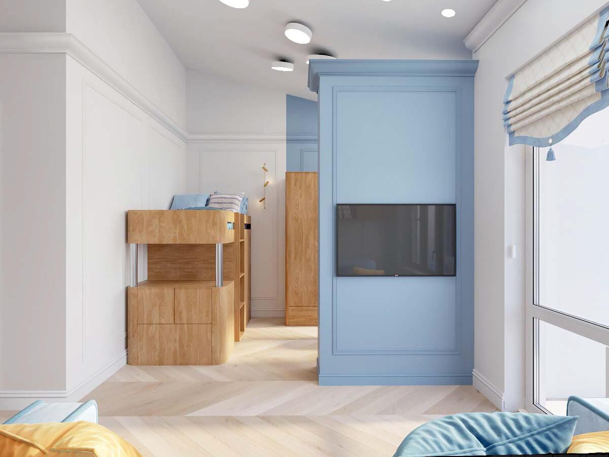 Мебель в комнату мальчика 8 лет проект 3895-2-2