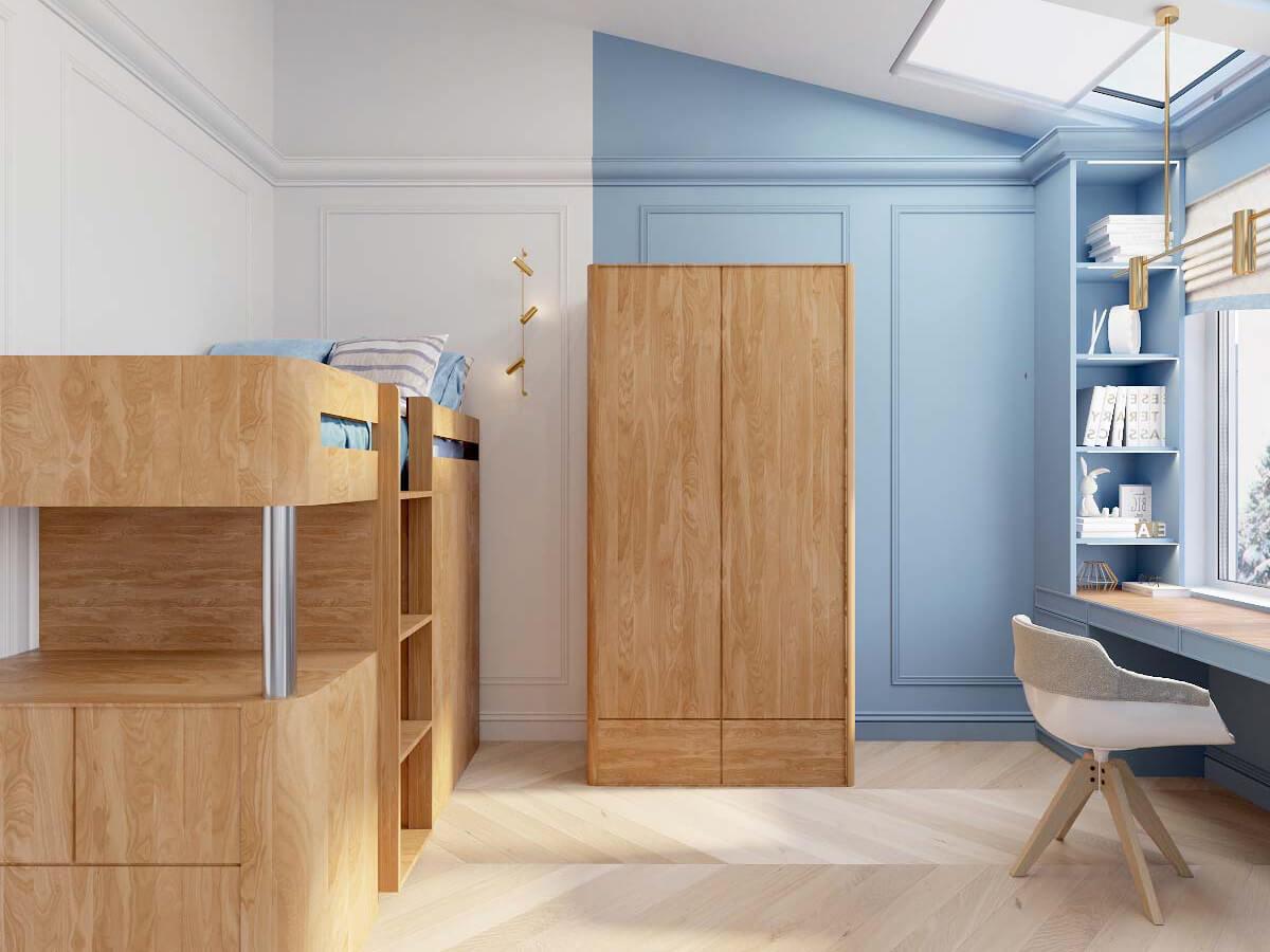 Мебель в комнату мальчика 8 лет проект 3895-2-4