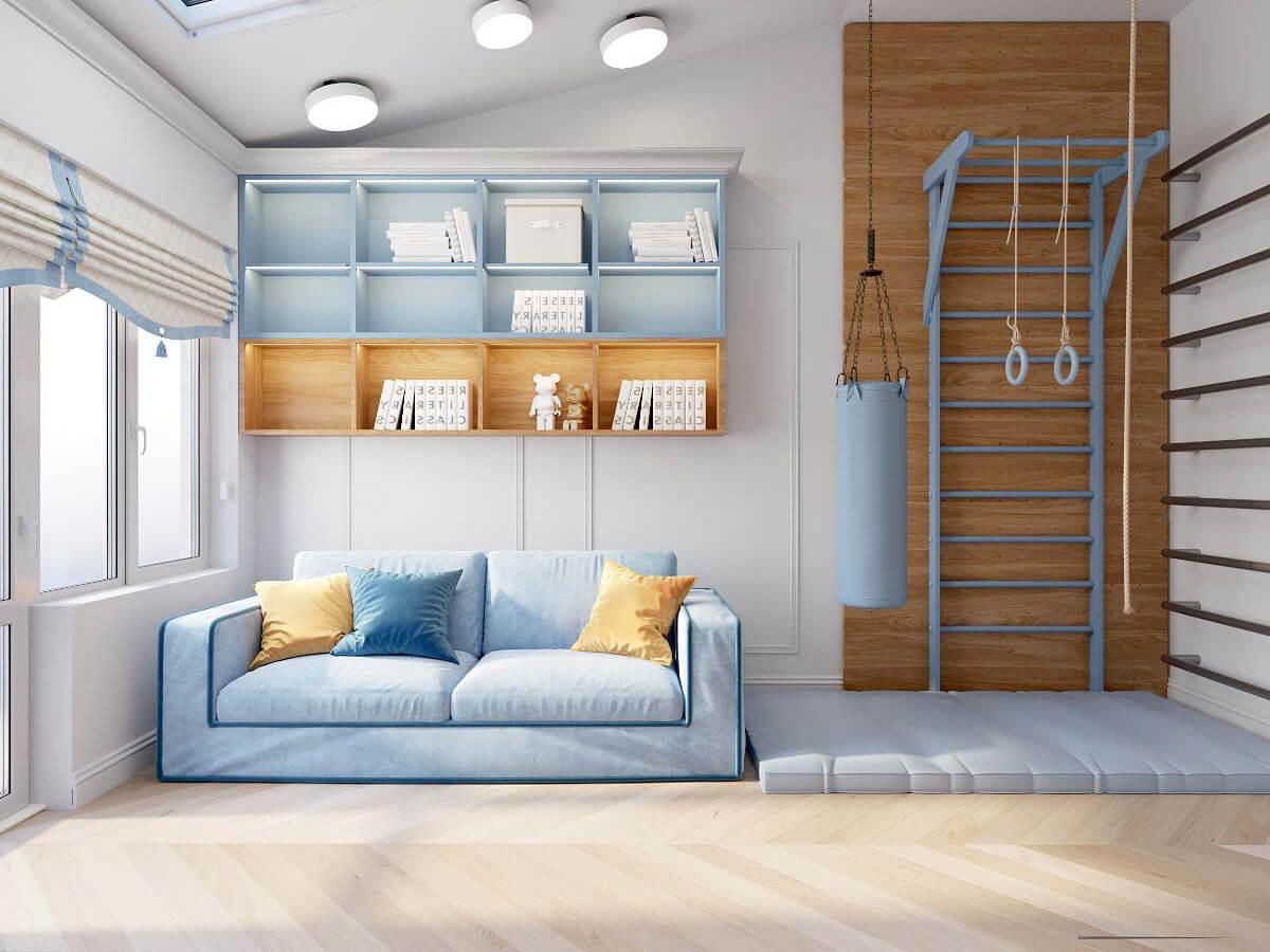 Мебель в комнату мальчика 8 лет проект 3895-2-5
