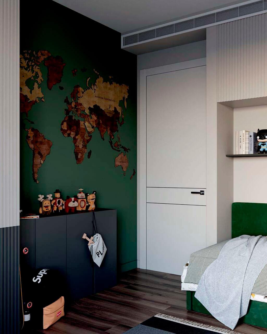 Мебель в комнату мальчика-школьника проект 4049-1-3
