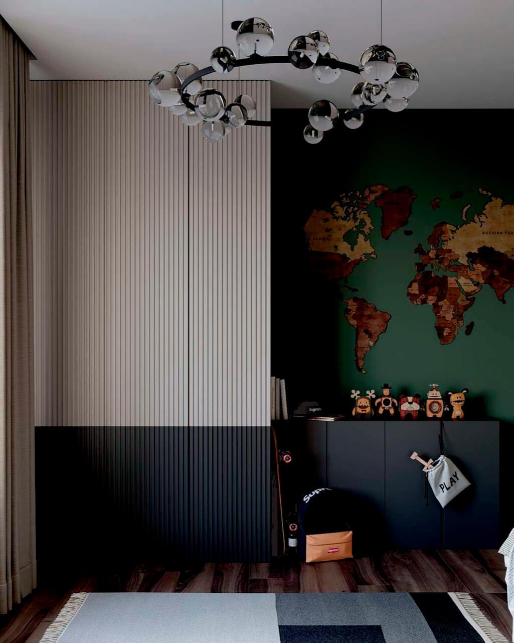 Мебель в комнату мальчика-школьника проект 4049-1-6
