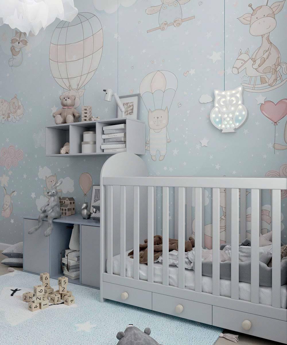 Мебель в комнату новорожденного проект 4031-1-3