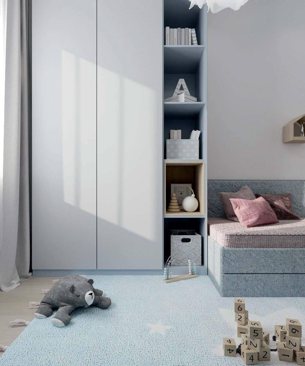 Мебель в комнату новорожденного проект 4031-1-5