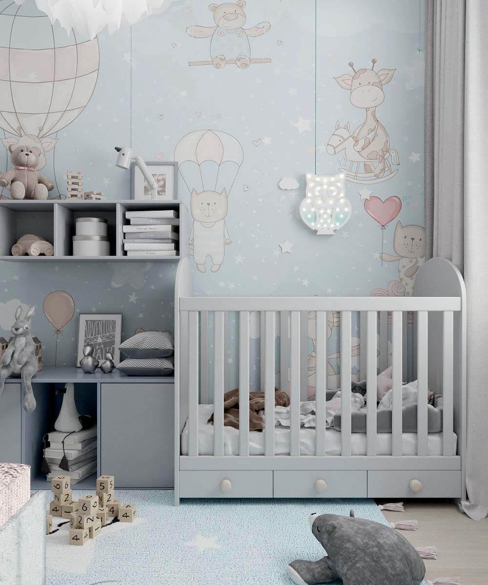 Мебель в комнату новорожденного проект 4031-1-7