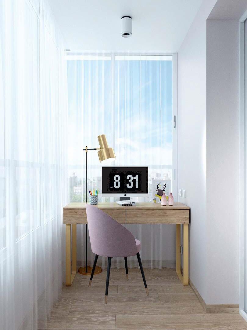 Мебель в спальню девочки 9 лет проект 3433-2-7