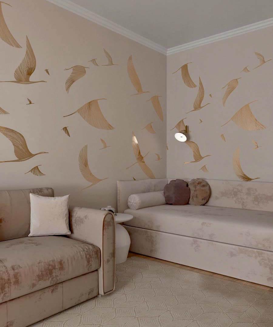Мебель в спальню девочки-школьницы 10-14 лет проект 3865-2