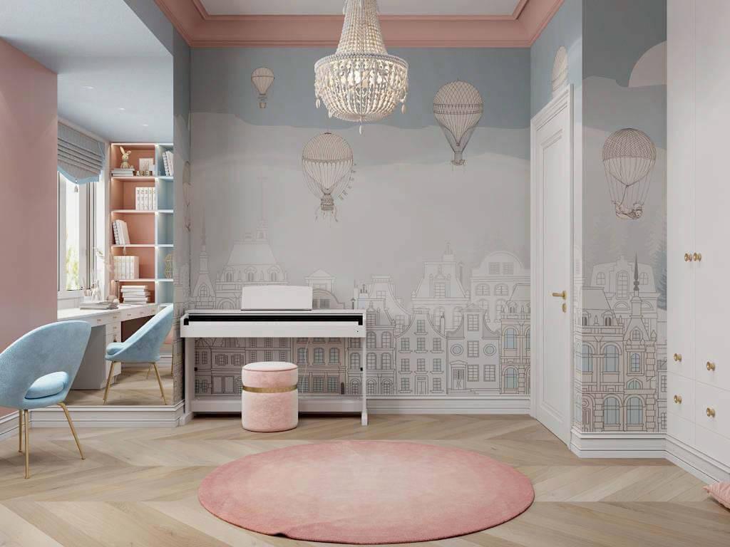 Мебель в спальню девочки-школьницы проект 3895-3-4