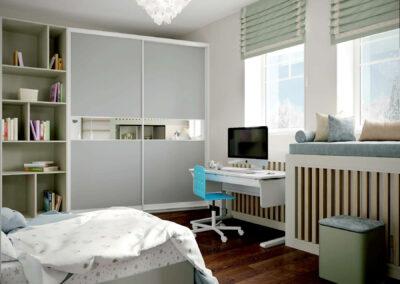 Детская мебель в спальню для мальчика 7 лет — проект 3875