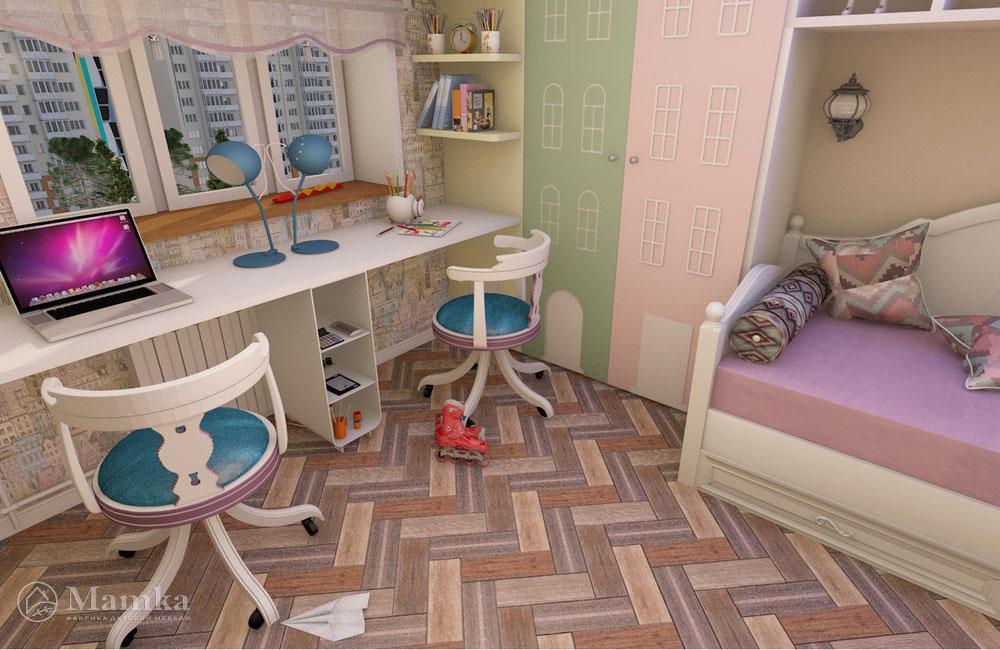 Самый необычный дизайн детской для двух детей 6